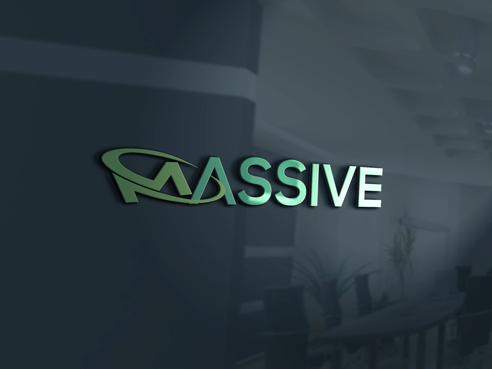 Logo Design by Rased Vai - Entry No. 81 in the Logo Design Contest MASSIVE LOGO.