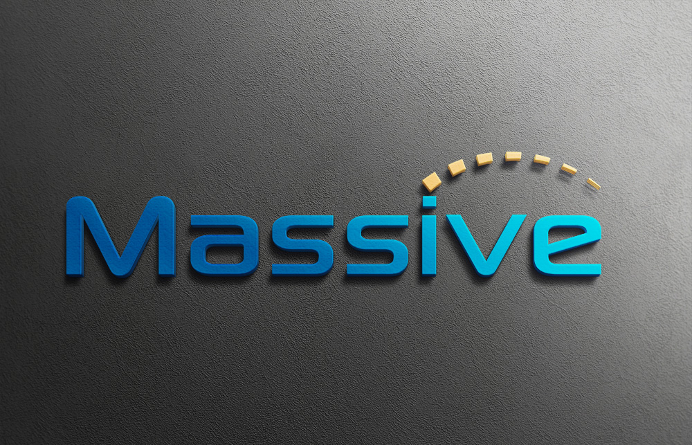 Logo Design by Mariam Mou - Entry No. 89 in the Logo Design Contest MASSIVE LOGO.