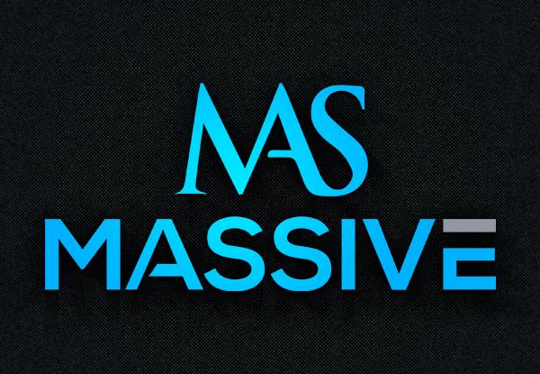 Logo Design by Tuhin Mazumder - Entry No. 125 in the Logo Design Contest MASSIVE LOGO.