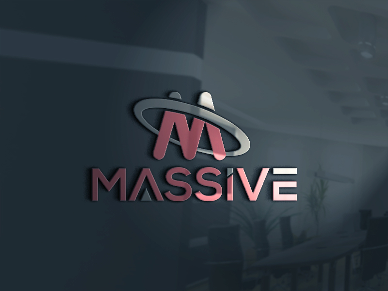 Logo Design by Tuhin Mazumder - Entry No. 133 in the Logo Design Contest MASSIVE LOGO.