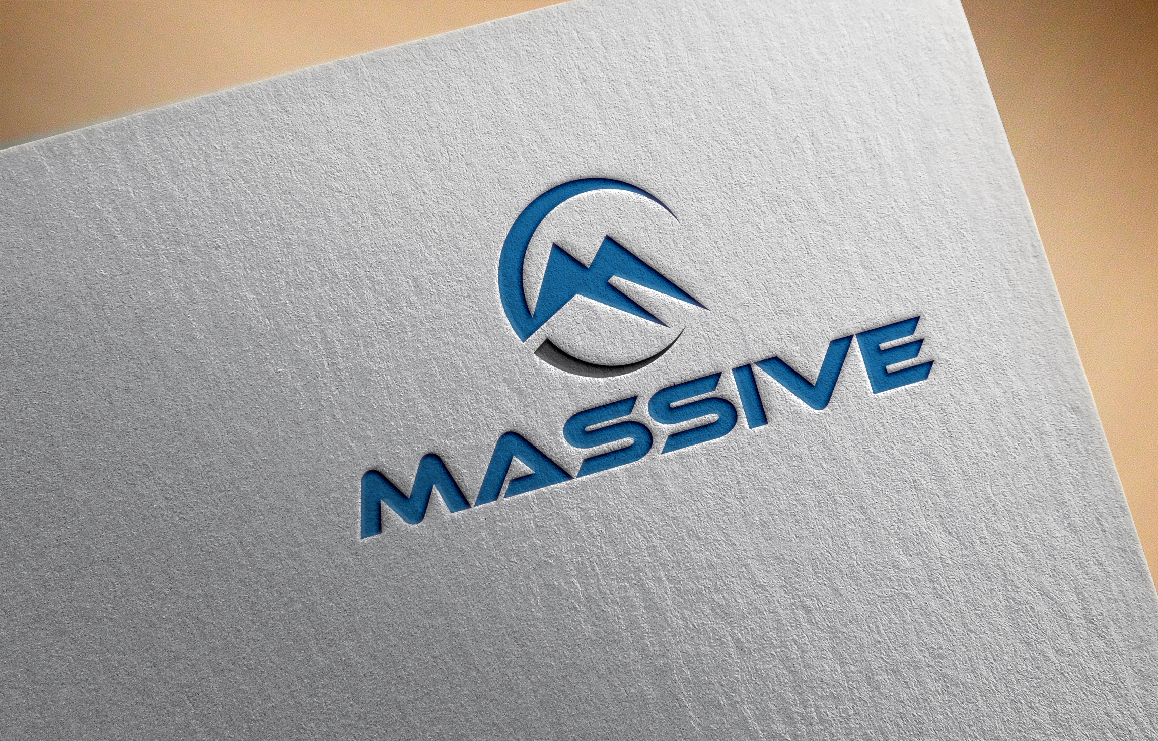 Logo Design by Masum Billah - Entry No. 152 in the Logo Design Contest MASSIVE LOGO.