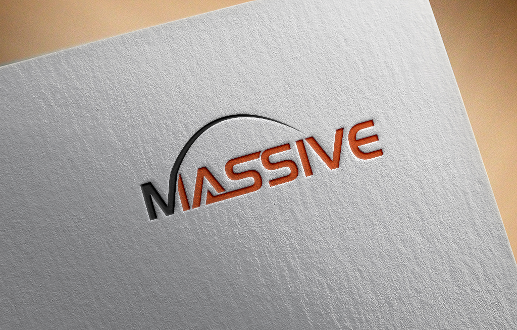 Logo Design by Kawsar Alam - Entry No. 158 in the Logo Design Contest MASSIVE LOGO.