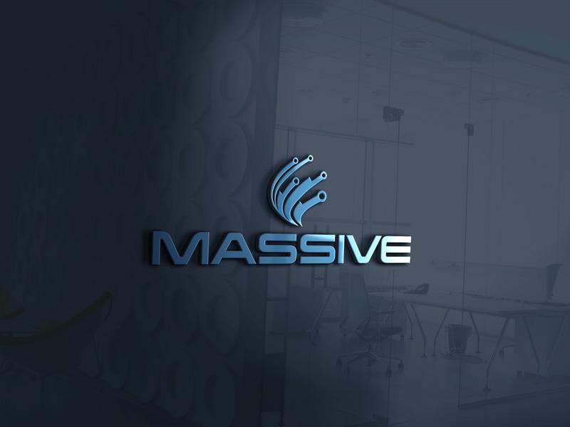 Logo Design by MAlamgir Hossain - Entry No. 162 in the Logo Design Contest MASSIVE LOGO.