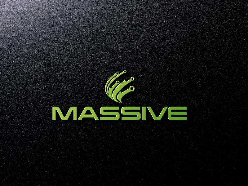Logo Design by MAlamgir Hossain - Entry No. 166 in the Logo Design Contest MASSIVE LOGO.
