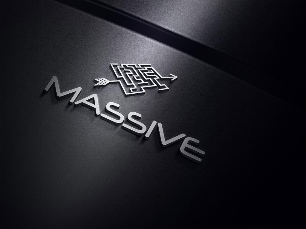 Logo Design by Kamal Hossain - Entry No. 187 in the Logo Design Contest MASSIVE LOGO.