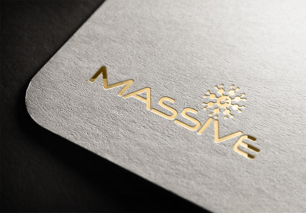 Logo Design by Kamal Hossain - Entry No. 189 in the Logo Design Contest MASSIVE LOGO.
