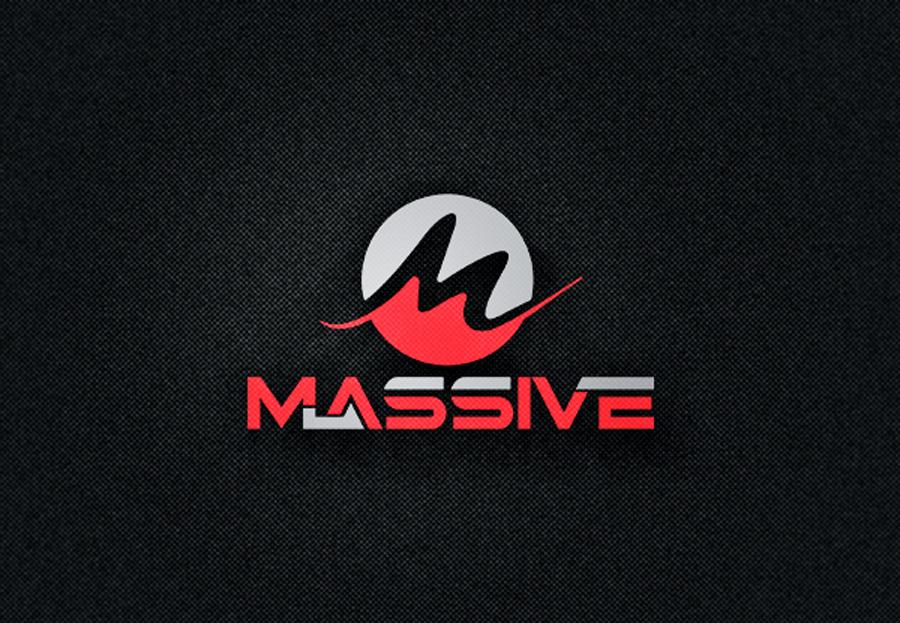 Logo Design by Neon Mirza shakib - Entry No. 192 in the Logo Design Contest MASSIVE LOGO.