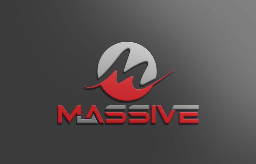 Logo Design by Neon Mirza shakib - Entry No. 198 in the Logo Design Contest MASSIVE LOGO.