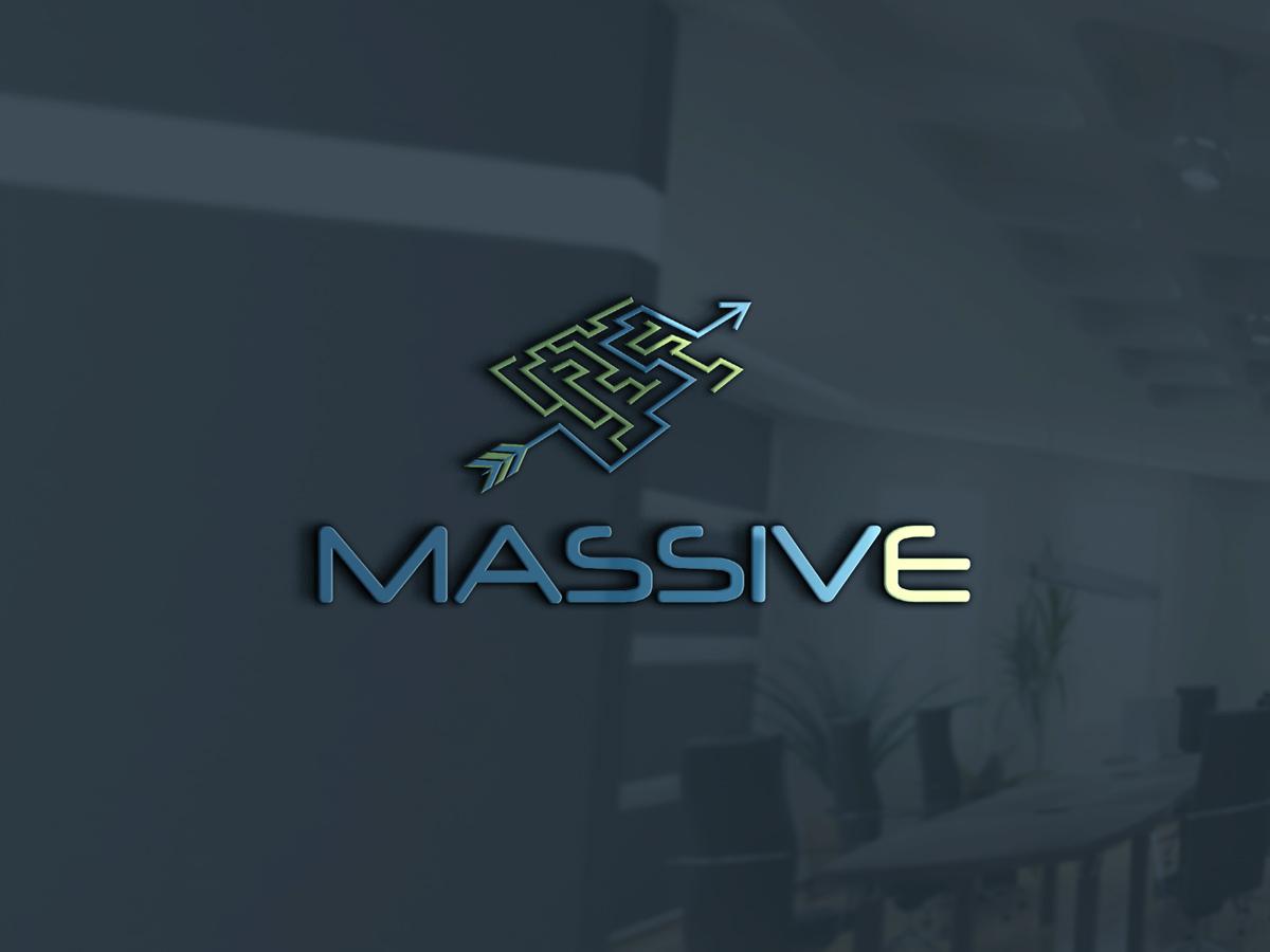 Logo Design by Kamal Hossain - Entry No. 199 in the Logo Design Contest MASSIVE LOGO.
