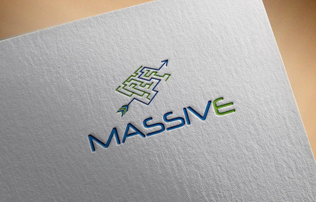 Logo Design by Kamal Hossain - Entry No. 201 in the Logo Design Contest MASSIVE LOGO.