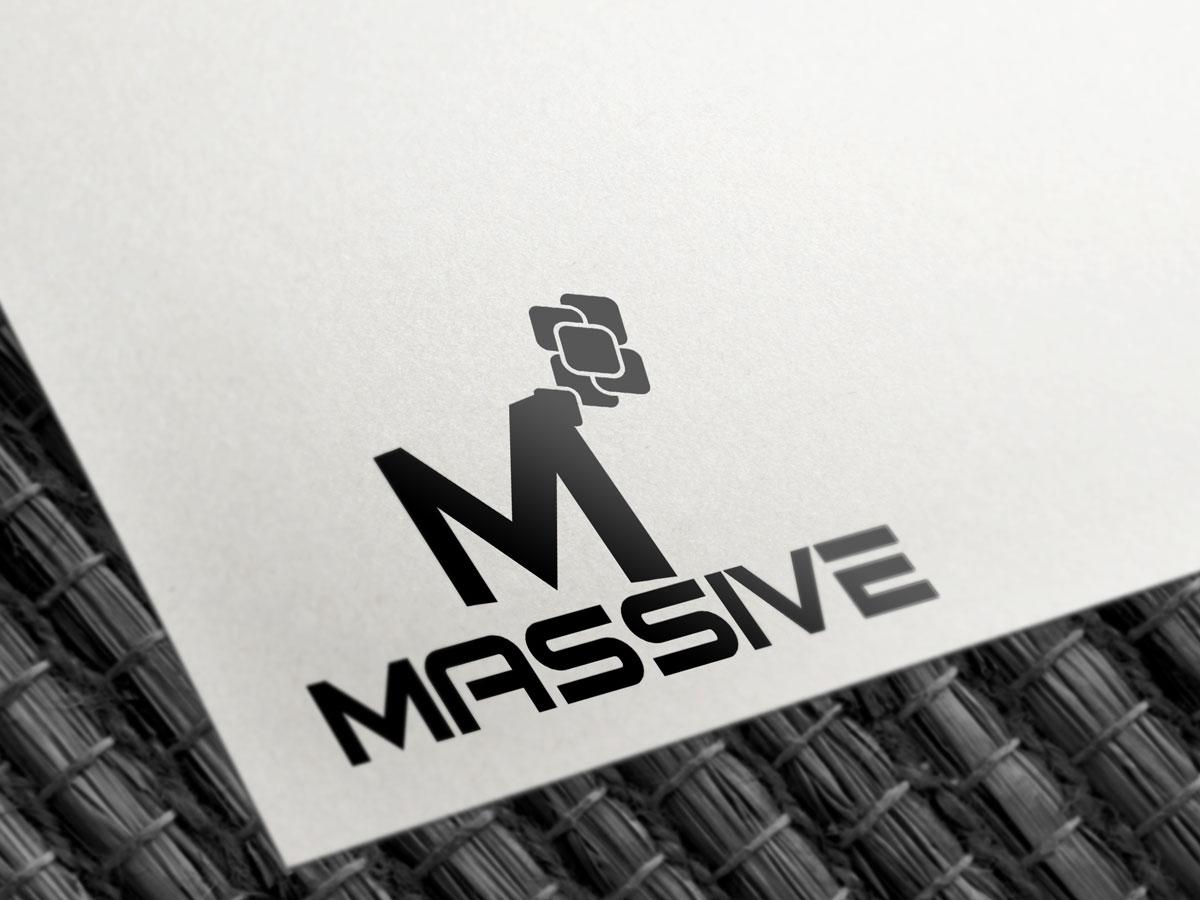 Logo Design by Saiful Islam - Entry No. 204 in the Logo Design Contest MASSIVE LOGO.