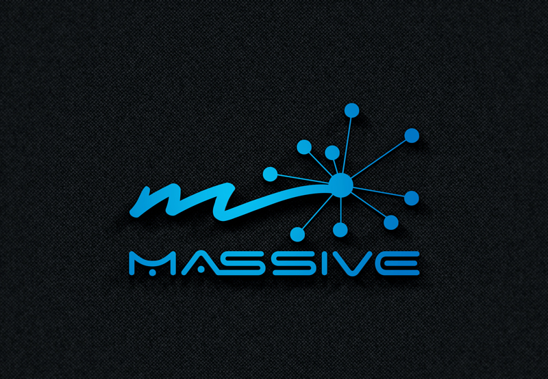 Logo Design by Taher Patwary - Entry No. 241 in the Logo Design Contest MASSIVE LOGO.