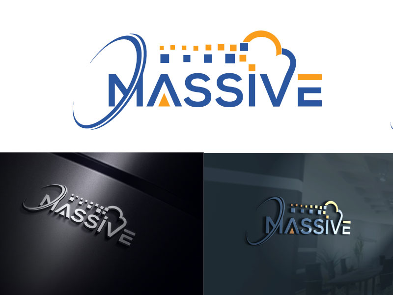 Logo Design by Md Harun Or Rashid - Entry No. 256 in the Logo Design Contest MASSIVE LOGO.
