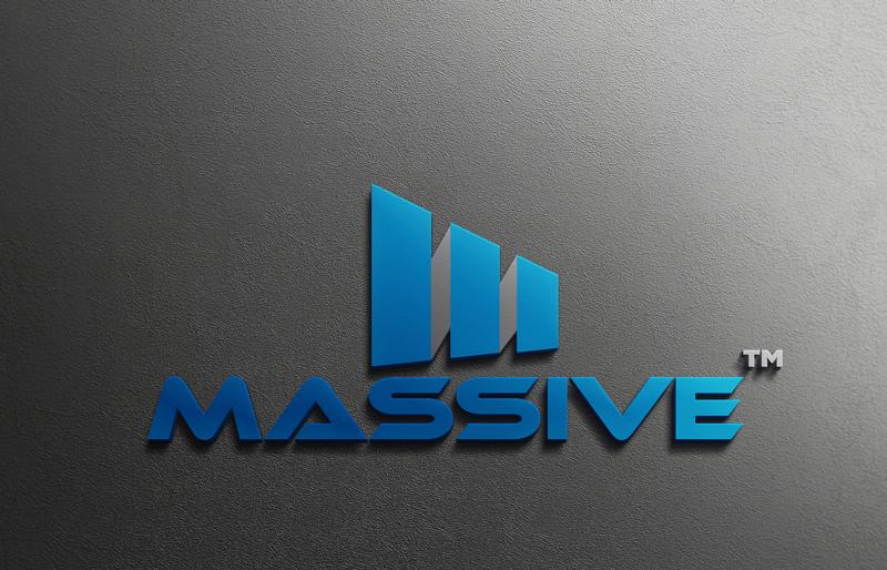 Logo Design by Mahedi Hasan - Entry No. 294 in the Logo Design Contest MASSIVE LOGO.