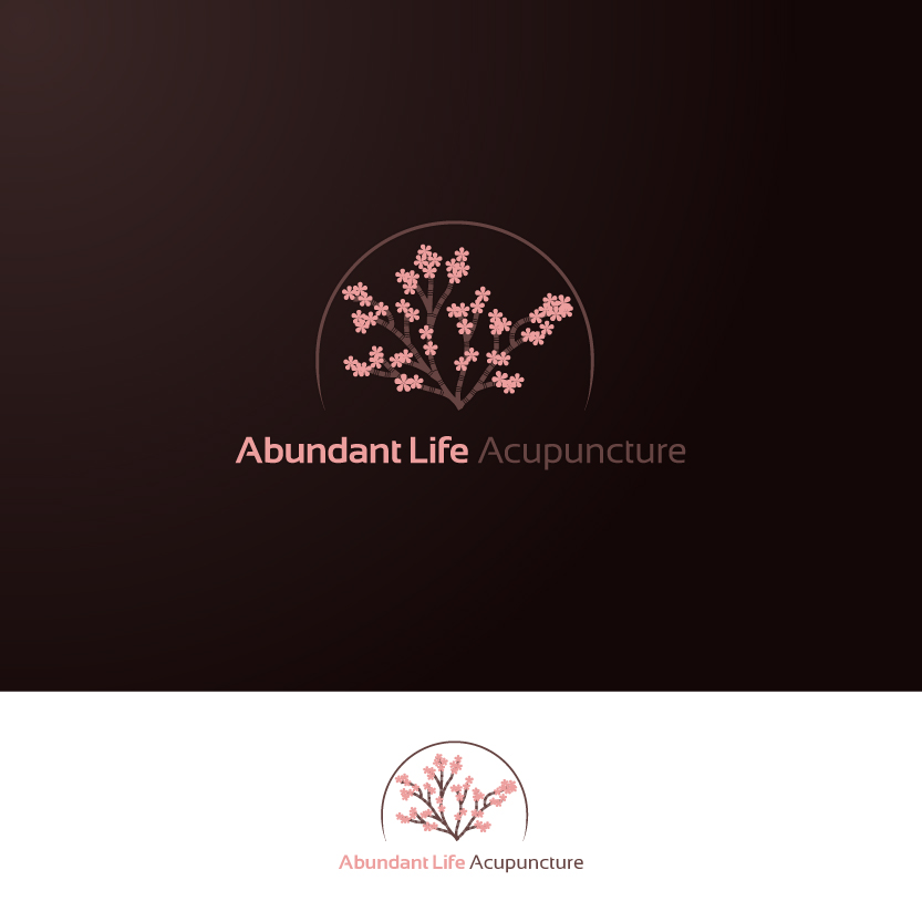Logo Design by Alpar David - Entry No. 75 in the Logo Design Contest abundant life acupuncture.