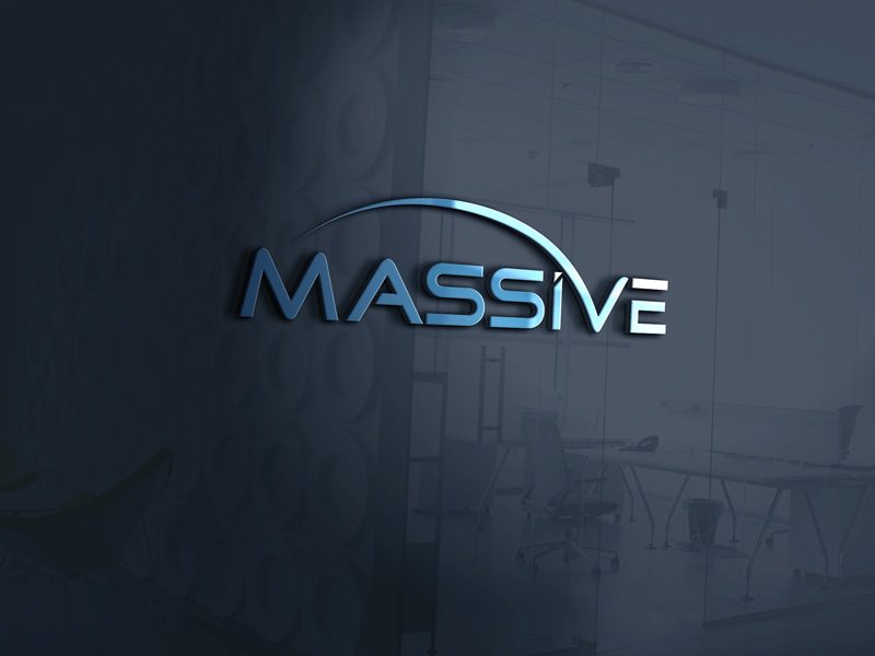 Logo Design by Maksud Rifat - Entry No. 372 in the Logo Design Contest MASSIVE LOGO.