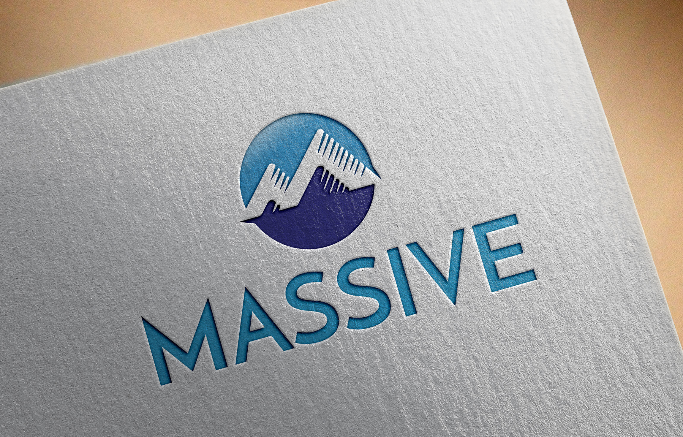 Logo Design by MD ZAHIR RAIHAN - Entry No. 376 in the Logo Design Contest MASSIVE LOGO.