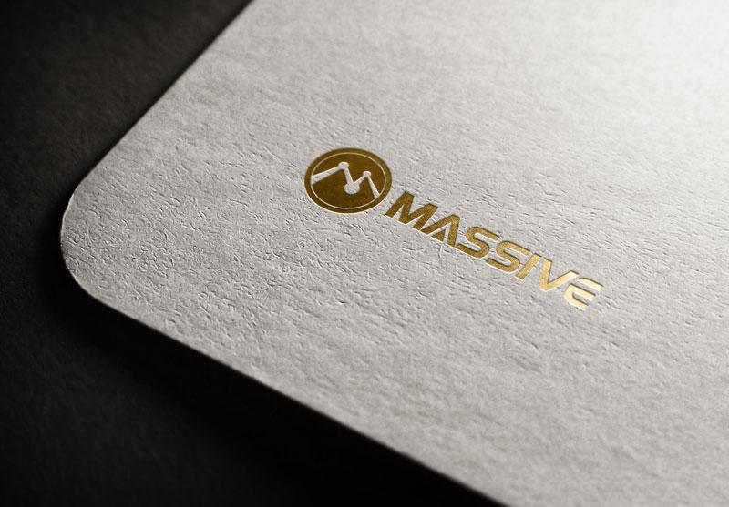 Logo Design by Salah Uddin - Entry No. 385 in the Logo Design Contest MASSIVE LOGO.