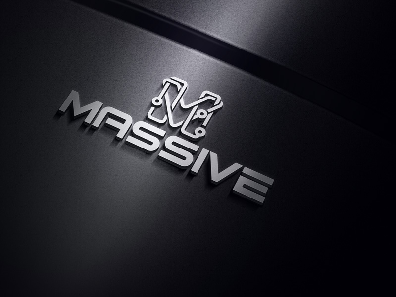 Logo Design by Salah Uddin - Entry No. 387 in the Logo Design Contest MASSIVE LOGO.