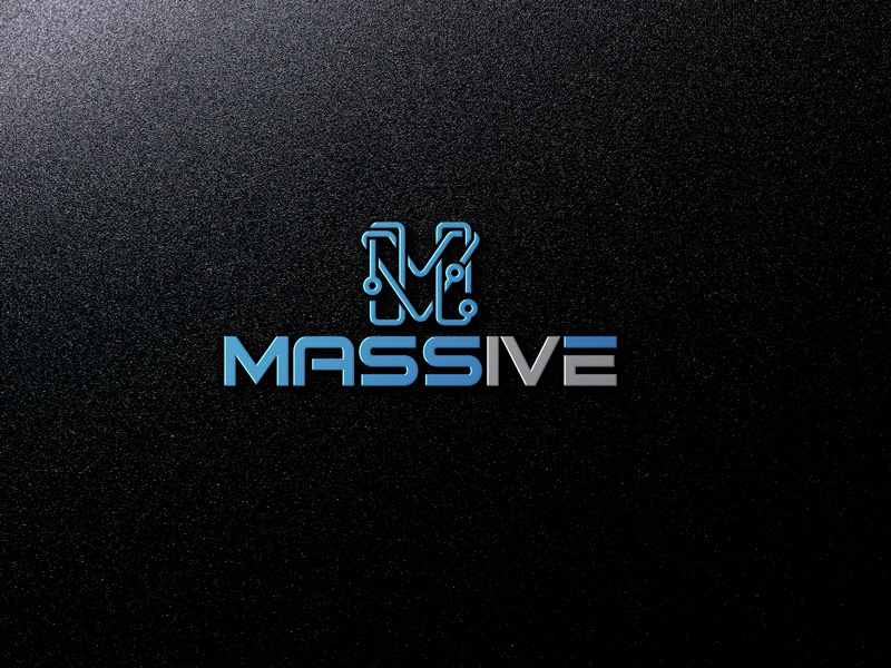 Logo Design by Salah Uddin - Entry No. 388 in the Logo Design Contest MASSIVE LOGO.
