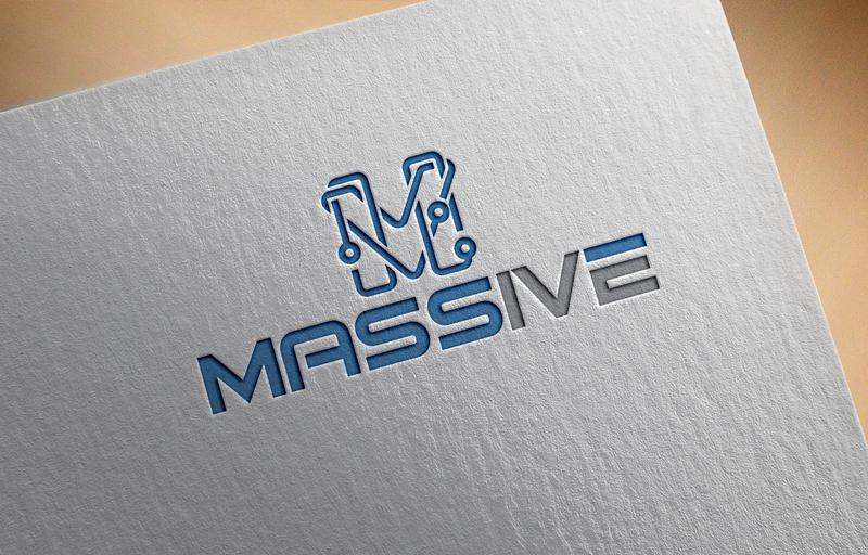 Logo Design by Salah Uddin - Entry No. 389 in the Logo Design Contest MASSIVE LOGO.