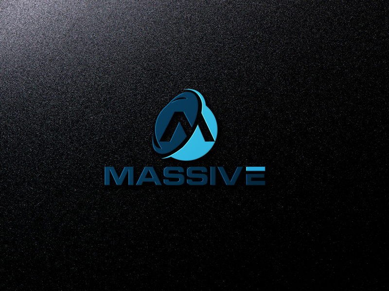 Logo Design by Salah Uddin - Entry No. 391 in the Logo Design Contest MASSIVE LOGO.