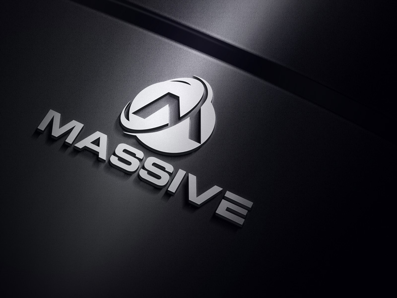 Logo Design by Salah Uddin - Entry No. 392 in the Logo Design Contest MASSIVE LOGO.