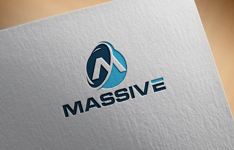 Logo Design by Salah Uddin - Entry No. 393 in the Logo Design Contest MASSIVE LOGO.