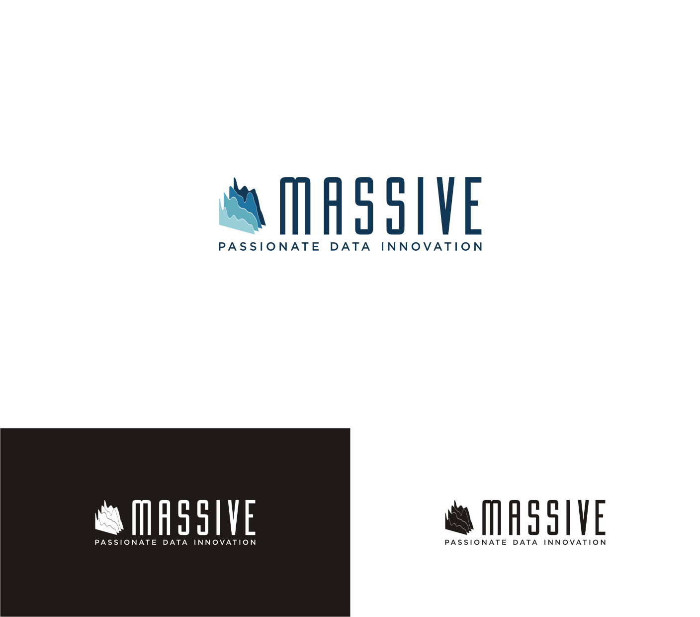 Logo Design by Sigitumarali Sigit - Entry No. 400 in the Logo Design Contest MASSIVE LOGO.