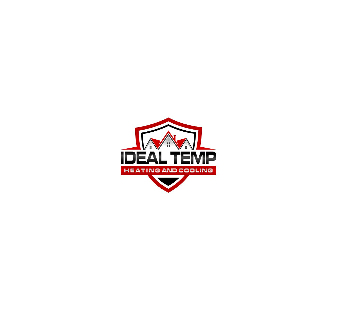 Logo Design by Raymond Garcia - Entry No. 8 in the Logo Design Contest Captivating Logo Design for Ideal Temp.