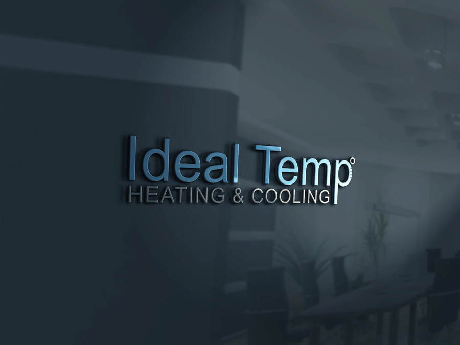 Logo Design by Apple Food - Entry No. 10 in the Logo Design Contest Captivating Logo Design for Ideal Temp.