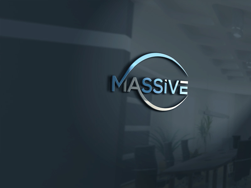 Logo Design by Private User - Entry No. 406 in the Logo Design Contest MASSIVE LOGO.