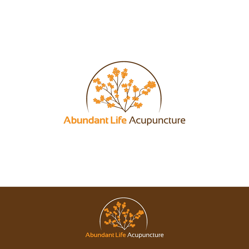 Logo Design by Alpar David - Entry No. 91 in the Logo Design Contest abundant life acupuncture.