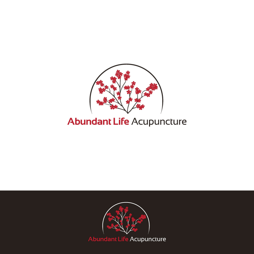 Logo Design by Alpar David - Entry No. 92 in the Logo Design Contest abundant life acupuncture.