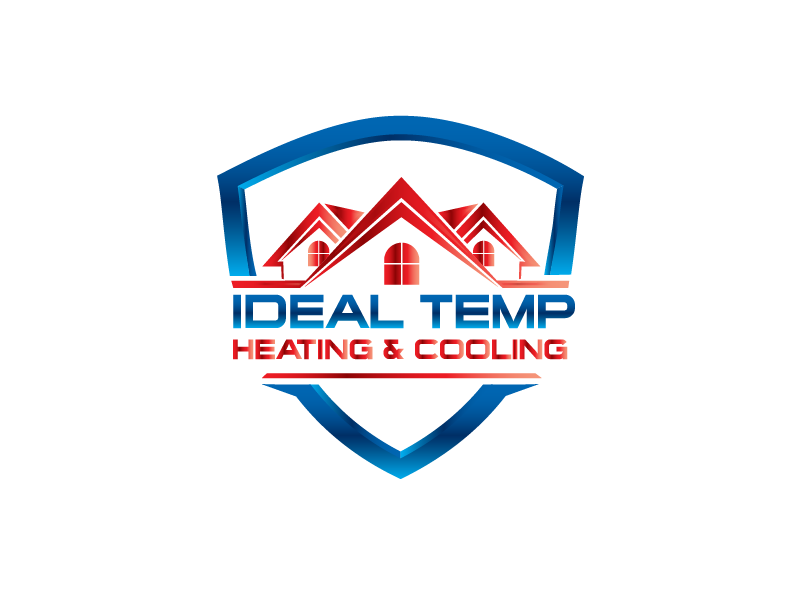 Logo Design by Private User - Entry No. 12 in the Logo Design Contest Captivating Logo Design for Ideal Temp.