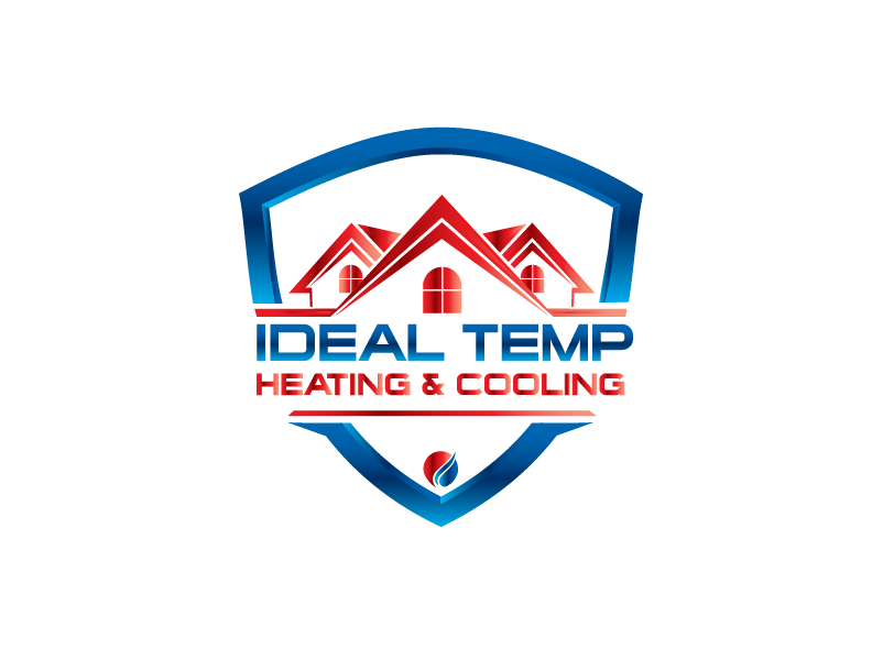 Logo Design by Private User - Entry No. 13 in the Logo Design Contest Captivating Logo Design for Ideal Temp.