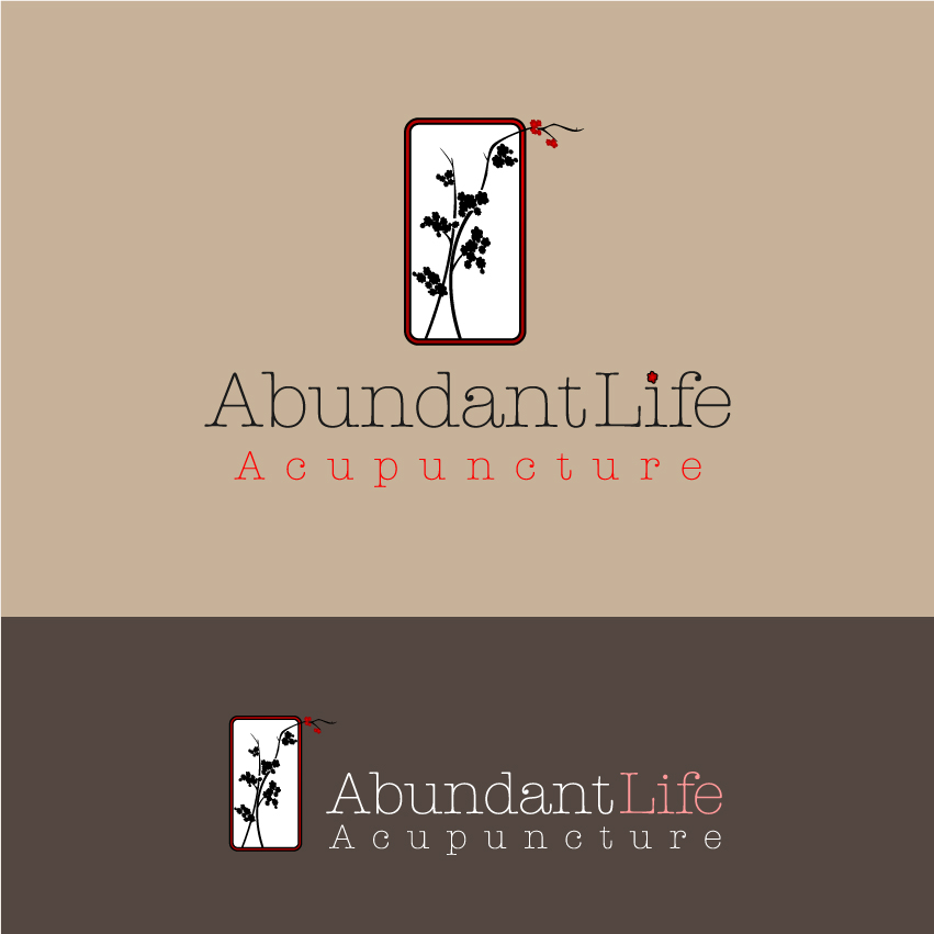 Logo Design by trav - Entry No. 97 in the Logo Design Contest abundant life acupuncture.
