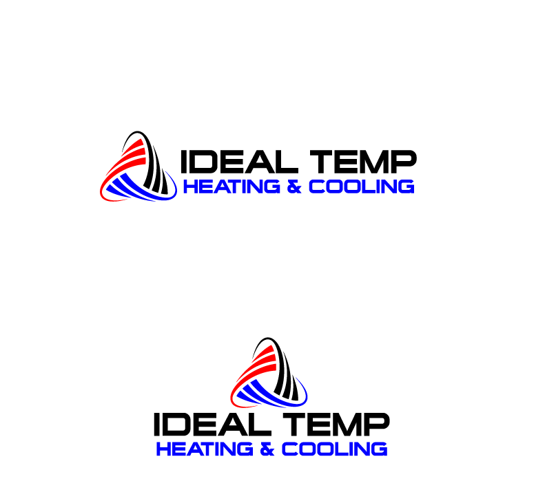 Logo Design by Private User - Entry No. 16 in the Logo Design Contest Captivating Logo Design for Ideal Temp.