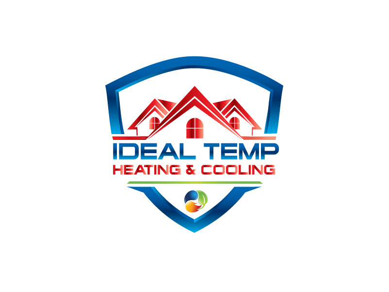 Logo Design by Private User - Entry No. 17 in the Logo Design Contest Captivating Logo Design for Ideal Temp.