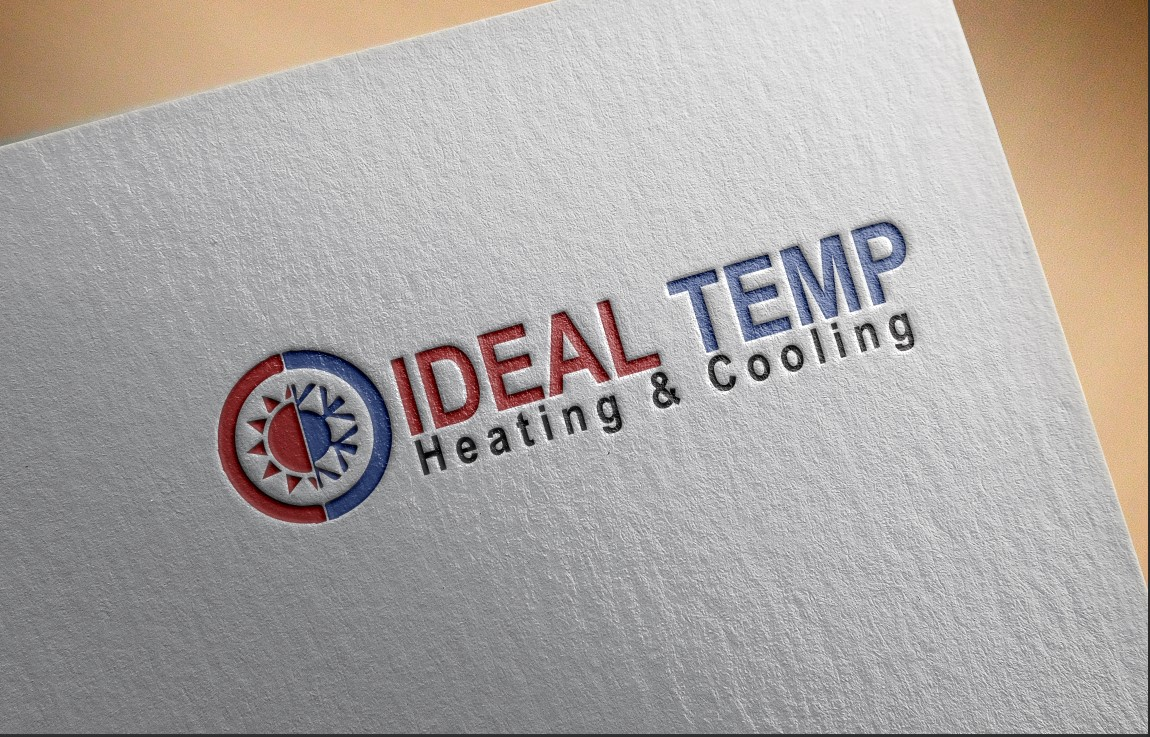 Logo Design by Private User - Entry No. 19 in the Logo Design Contest Captivating Logo Design for Ideal Temp.