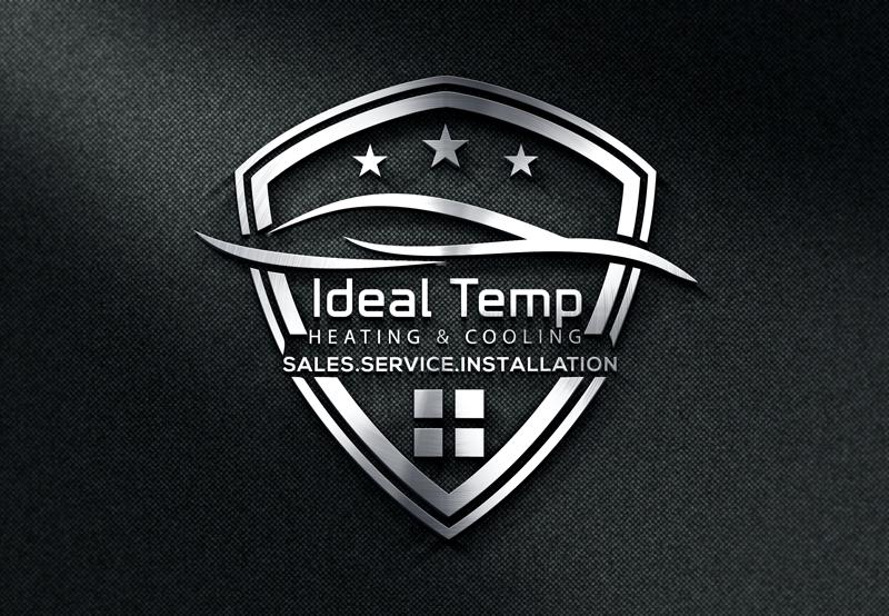 Logo Design by Md Harun Or Rashid - Entry No. 25 in the Logo Design Contest Captivating Logo Design for Ideal Temp.