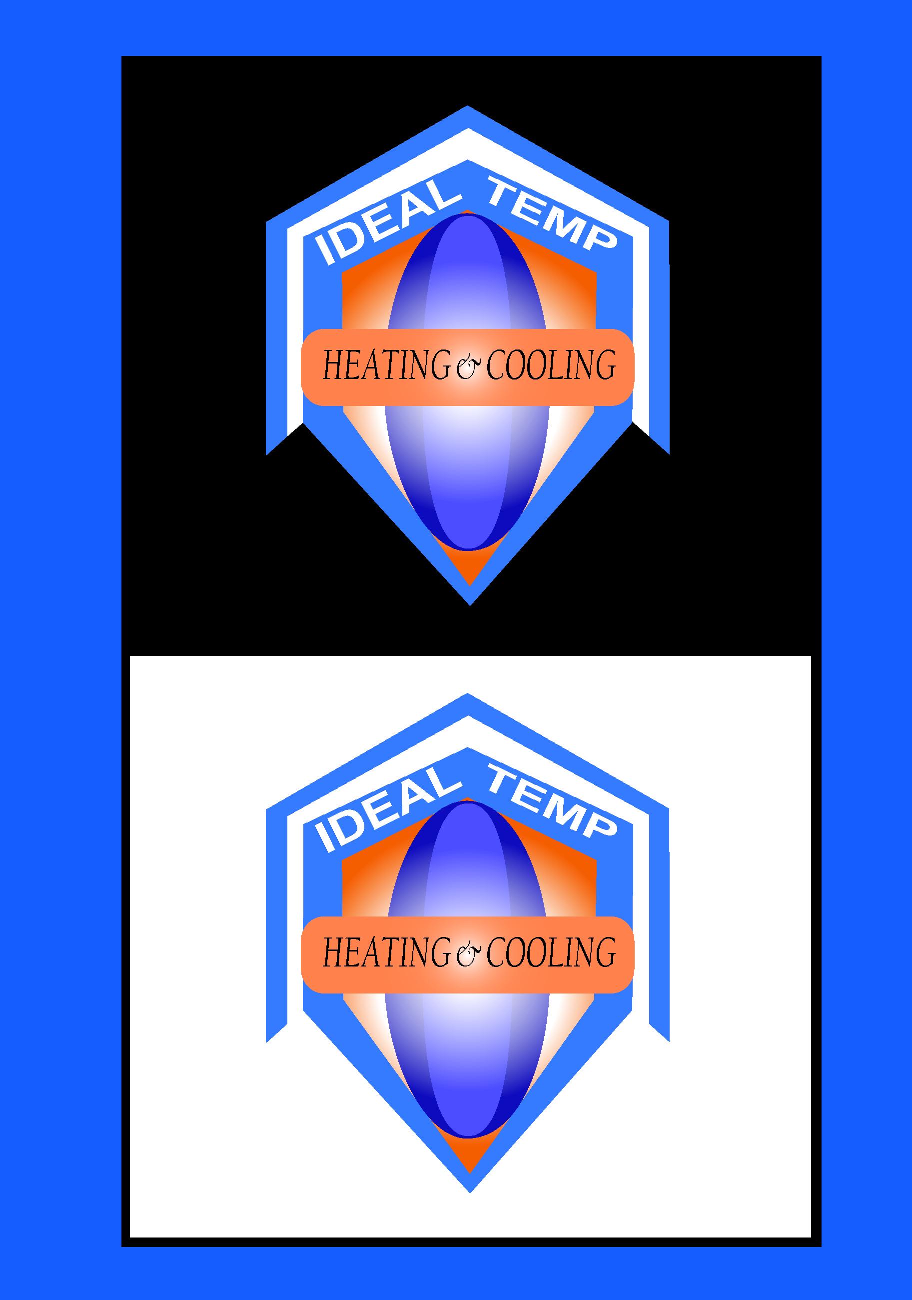 Logo Design by Shankar Halder - Entry No. 29 in the Logo Design Contest Captivating Logo Design for Ideal Temp.