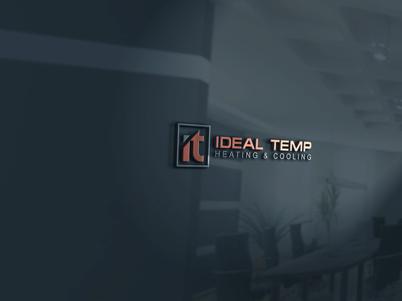 Logo Design by Private User - Entry No. 30 in the Logo Design Contest Captivating Logo Design for Ideal Temp.