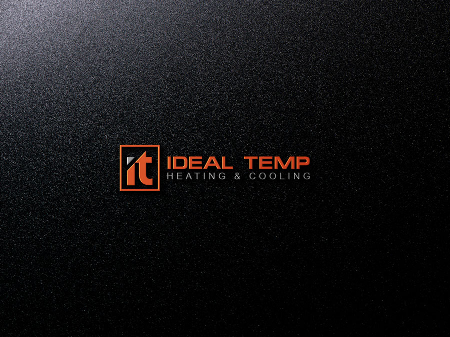 Logo Design by Private User - Entry No. 32 in the Logo Design Contest Captivating Logo Design for Ideal Temp.