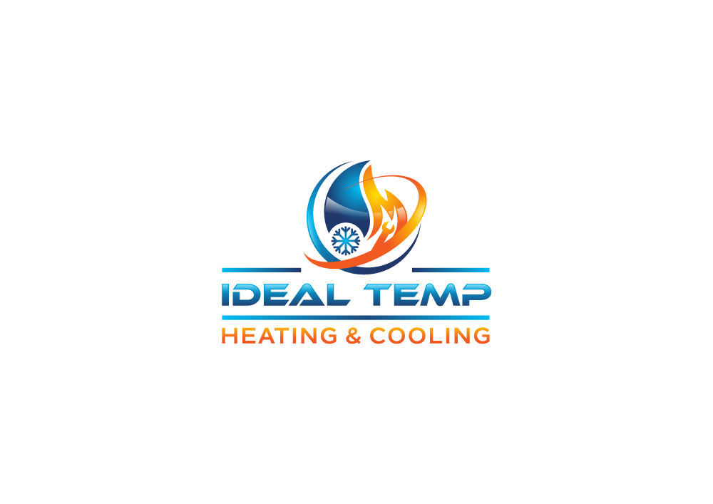 Logo Design by Tauhid Shaikh - Entry No. 33 in the Logo Design Contest Captivating Logo Design for Ideal Temp.