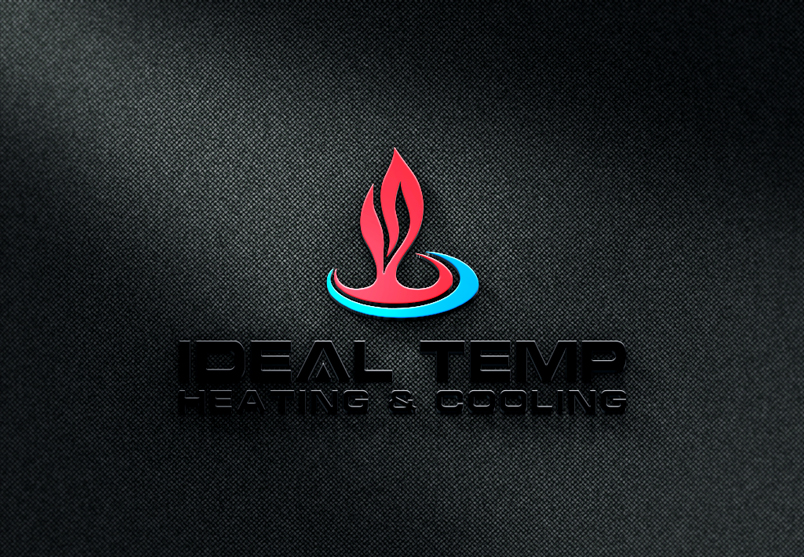 Logo Design by Mohammad azad Hossain - Entry No. 36 in the Logo Design Contest Captivating Logo Design for Ideal Temp.
