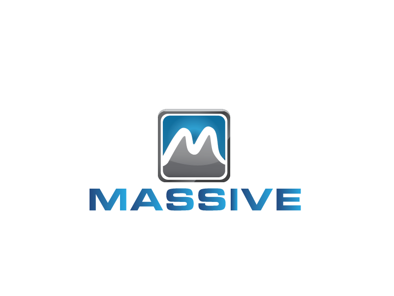 Logo Design by Private User - Entry No. 422 in the Logo Design Contest MASSIVE LOGO.