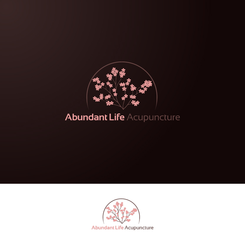 Logo Design by Alpar David - Entry No. 106 in the Logo Design Contest abundant life acupuncture.