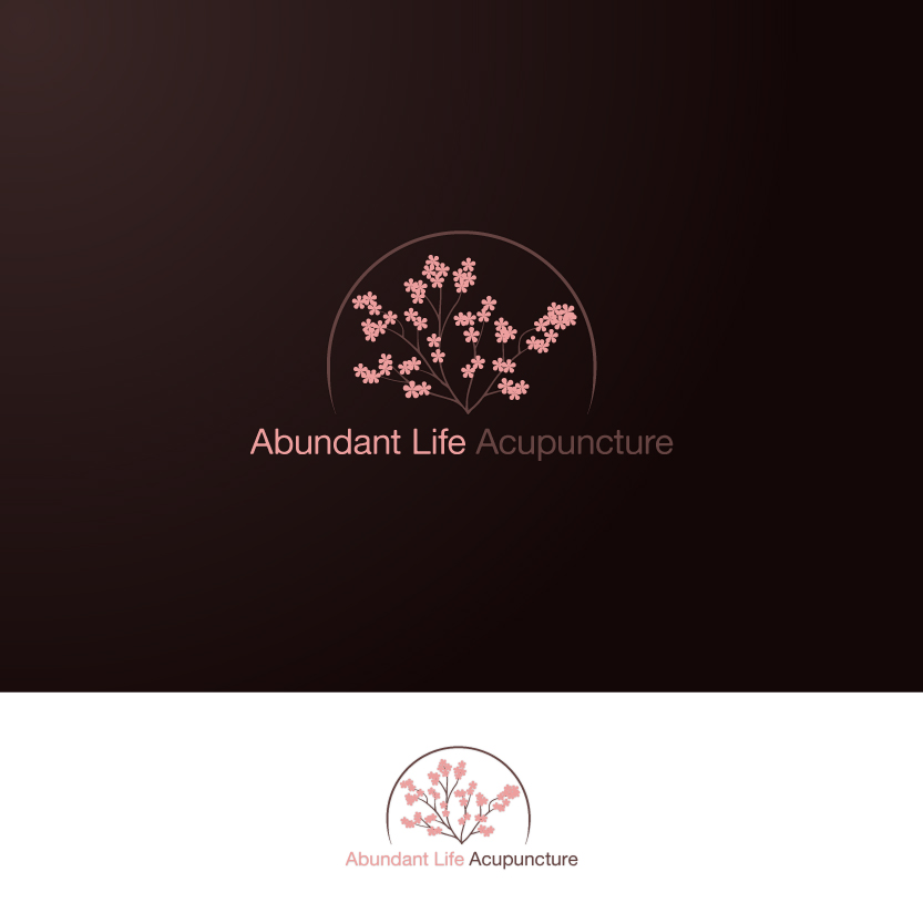 Logo Design by Alpar David - Entry No. 110 in the Logo Design Contest abundant life acupuncture.