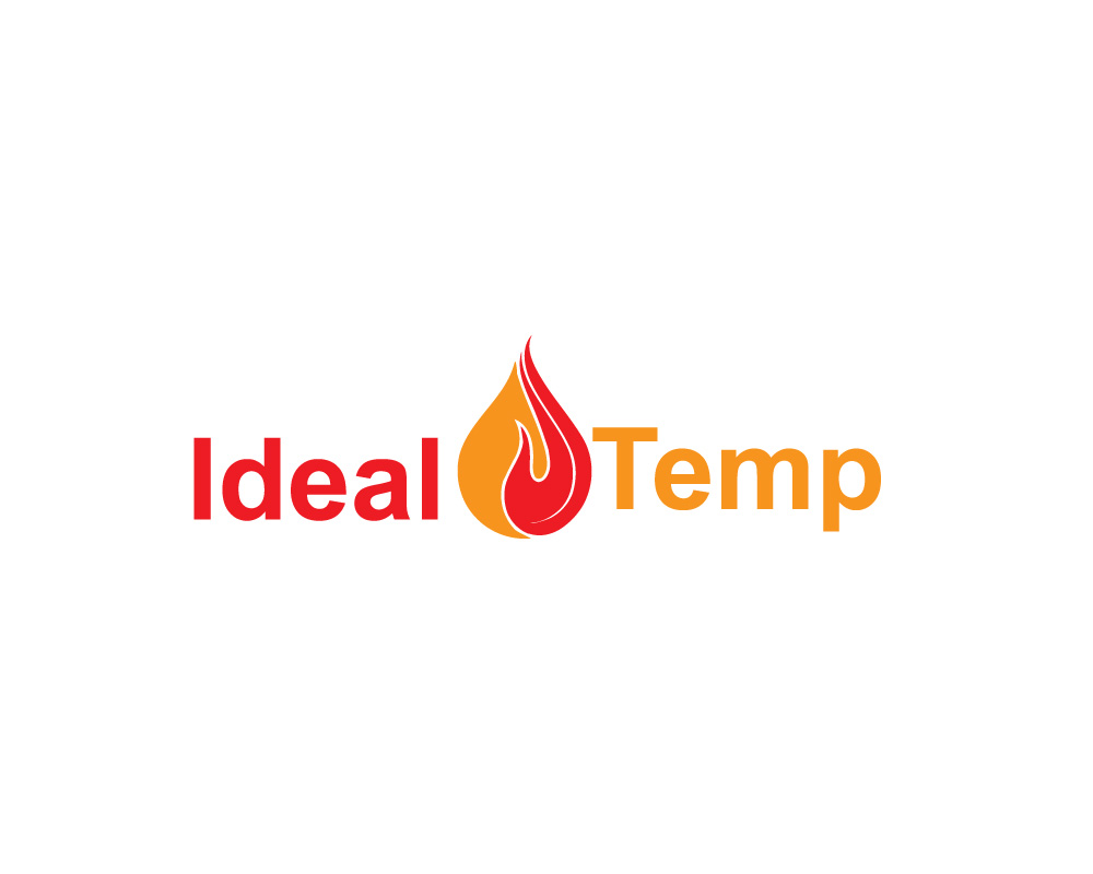 Logo Design by Ashraful Alam - Entry No. 41 in the Logo Design Contest Captivating Logo Design for Ideal Temp.